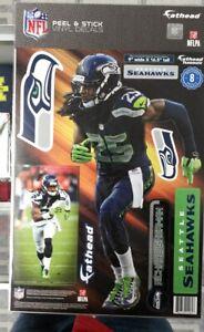 "NFL Seattle Seahawks Richard Sherman 9"" X 16.5"" Fathead Wall Graphic"