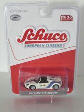 Schuco 1:64 Porsche 918 Spyder Martini white Brand new