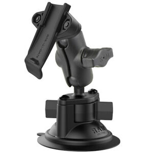 RAM Suction Cup Short Arm Garmin GPS Kit Astro eTrex GPSMAP InReach Car Truck