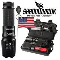 20000lm Genuine Shadowhawk X800 Flashlight L2 LED Military Tactical Torch 18650