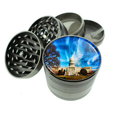 Washington D.C. D1 Titanium Grinder 4 Piece Magnetic Hand Mueller Monuments
