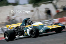 Graham HILL BRABHAM bt34 French GP 1971 fotografia 2