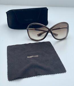 Sonnenbrille, Tom Ford, Modell Whitney, TF9 692, Braun, Komplett