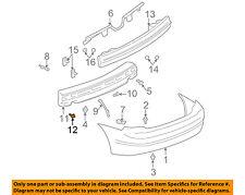 GM OEM Rear Bumper-Energy Absorber Retainer 21077131