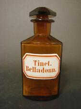 Apothekenflasche / Standgefäß Tinct. Belladonn.