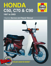 Honda C50 C70 C90 Cub Haynes Workshop Manual.