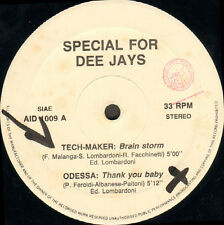 VARIOUS (TECH-MAKER / ODESSA / DROPOUT / HYSTERIA) - Special For Dee Jays 9