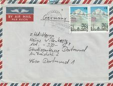 1991 Nepal cover sent from Kathmandu to Dortmund Germany