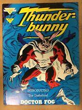 1985 Thunder Bunny #2 Warp Graphics The Diabolical Doctor Fog Brian Buniak