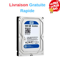Disque dur interne Bulk WD Blue Desktop Mainstream 500 Go 3,5 pouces SATA 7200