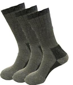 Men's Merino Wool Socks Outdoor Walking Work Boot thermal Socks soft wear 6-11