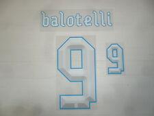 2577 BALOTELLI 9 NOME NUMERO OFFICIAL NAME SET MAGLIETTA ITALIA CONFEDERATIONS