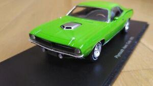 Spark Plymouth Hemi Cuda 1970 PLYMOUTH HEMI CUDA American Muscle 1:43