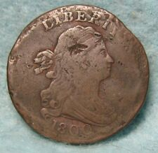 1800 Draped Bust Half Cent VF- Details * US Coin