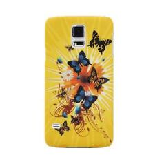 Butterfly Case Handy Tasche Samsung Galaxy S5 Mini Schutz hülle Hard Cover Etui