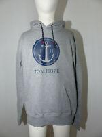 Neuer Tom Hope Herren Kapuzen Hoodie Pullover Gr M Grau Anker Logo