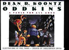 DEAN R. KOONTZ---ODDKINS---PHIL PARKS---C. ZAVISA---HC/DJ---1st1988---WARNER