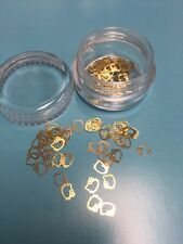 OPI Hello Kitty Collection Limited Edition ��1 Jar GOLD CHARMS 100 Pcs ������New