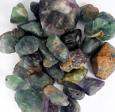 Natural 5000 Ct. Green Fluorite Untreated Rough Loose Gemstone  Lot 1 Ruby Free