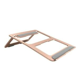 Foldable Laptop Stand Holder Aluminium Adjustable PC Computer Notebook Stand