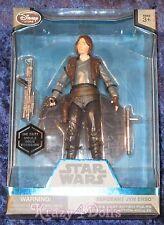 "Disney Star Wars Sergeant Jyn Erso Elite Series Die Cast Action Figure 6"" New!"