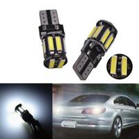 4x Canbus T10 12V W5W 7020 Cool White LED Car Tail Side Lights Turn Park Bulbs