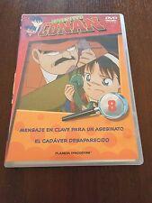 DETECTIVE CONAN DVD 8 - 1 DVD - 2 CAPS - 50 MIN - JONU MEDIA PLANETA DEAGOSTINI