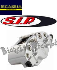 3678 - PINZA FRENO ANTERIORE SIP ARGENTO VESPA PX 125 150 200 FRENO A DISCO