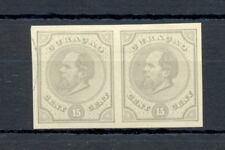 DUTCH WEST INDIES-CURACAO-1872 -15 Ct # 6-PAIR --PROOF (*) AS ISSUED VF @1