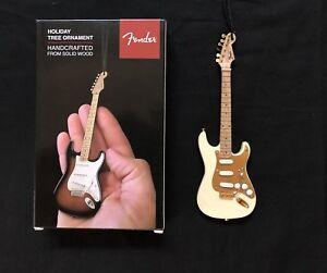 Fender 50s Blonde Stratocaster Christmas Decoration
