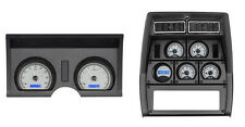 Dakota Digital 78-82 Chevy Corvette Analog Dash Gauges Silver Blue VHX-78C-VET