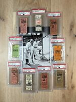 1929 1930 1932 1933 1935 1936 1938 Lou Gehrig Babe Ruth New York Yankees Ticket