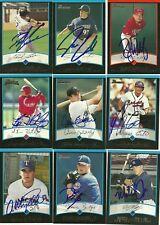 2001 Bowman MITCH JONES Signed Card autograph YANKEES OREM, UT