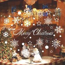 Christmas Xmas Snowflake Window Wall Sticker Mural Vinyl Decal Art Home Decor
