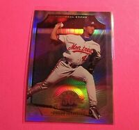 1998 Donruss Prized Collections, Leaf #320 Pedro Martinez HOF /400 refractor MT
