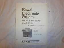 KAWAI Service Manual  Schaltbild für Keyboard   E100, E100A