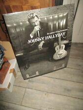 Johnny Hallyday-PLV géante-Le coeur d un homme-Introuvable-(64 cm x 47 cm)