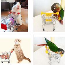 Mini Supermarkt Schubkarre Einkaufswagen Papagei Kinder Vogel Telefon halter PD