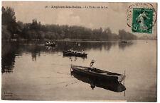 CPA 95 - ENGHIEN (Val d'Oise) - 36 La Pêche sur le Lac (animée)