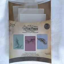 Sizzix Tim Holtz Embossing Folders French Connection Set Scrapbook 657192