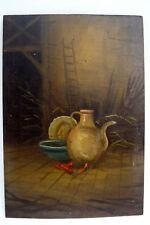 Originale künstlerische Malerein der Zeit 1800-1899 Stillleben -