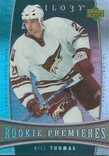 (HCW) 2006-07 Upper Deck Trilogy #142 BILL THOMAS Rookie NHL Hockey 00985