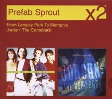 Prefab Sprout From Langley Park To Memphis/Jordan: The Comeback 2-CD NEW SEALED