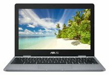 ASUS C223 11.6 Inch Celeron N3350 Dual Core 4GB 32GB Chromebook - Grey