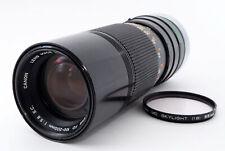 [EXCELLENT Canon FD 100-200mm f/5.6 S.C (2639)
