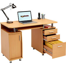 Genuine Piranha Emperor Computer Desk With A4 Filing Drawer Home Office PC 2b