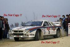 Attilio Bettega MARTINI LANCIA 037 Rally San Remo 1983 fotografia 1