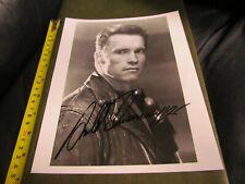 Arnold Schwarzenegger Autographed 8 x 10 Photo