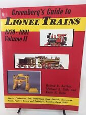Greenberg's Guide to Lionel Trains 1970-1991 Vol. 2 Specials Sets Accessories