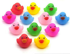 Floating Rubber Duck Water Toys for Baby Children Kids Toddler Bath Time 12 PCS